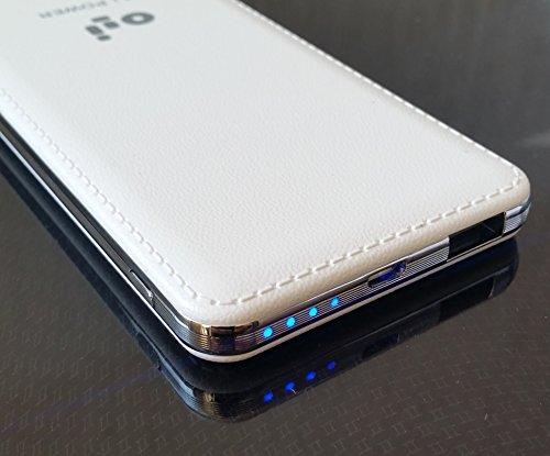 Oli Power Bank Batería Externa 7000 mAh Para Iphone Ipad Samsung Galaxy