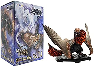 Pi² Monster Hunter World Table Decoration Dragon Toy Action Figure (8-15cm,Multicolor)