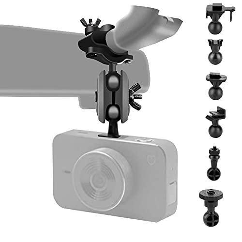Armaturenbrett-Kamera-Spiegelhalterungs-Set mit mehr als 10 verschiedenen Gelenken, kompatibel mit Apeman, Vantrue N2 Pro, YI, YI Nightscape, Byakov, SuperEye, Jeemak, OKEEY, Crosstour, Peztio usw.