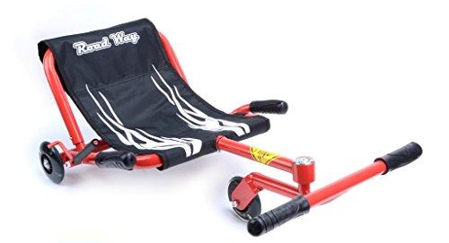 Umit Road Way Roller mit Stuhl, Unisex Kinder, Rot, M