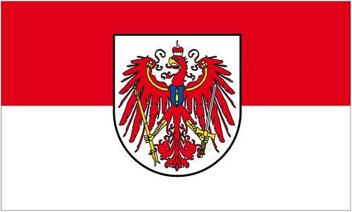 Fahne / Flagge Brandenburg Adler alt 90 x 150 cm