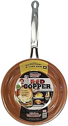 Red Copper 8 Inch Fry Pan product image