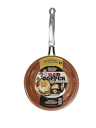Red Copper 8-Inch Fry Pan New York