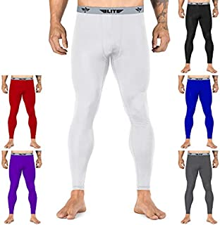 Elite Sports Workout Standard MMA BJJ Spats Base Layer Compression Pants Tights