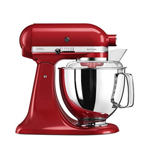 KitchenAid Artisan Stand Mixer (Empire Red, Stainless Steel, 50/60Hz)
