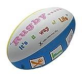 Gilbert Randoms Way of Life - Ballon de Rugby des Supporters - taille 5