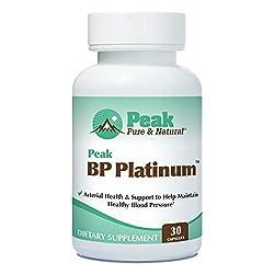 Peak BP Platinum – supplement review - Natural Blood