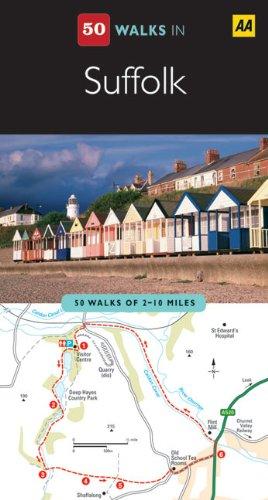 Suffolk (AA 50 Walks Series)