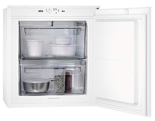AEG ABB660F1AS - Armario congelador empotrable (600 mm, 53 L, alarma de temperatura, puerta corredera, A+)