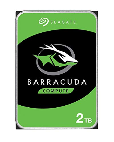 Seagate Barracuda 2 TB Internal Hard Drive HDD – 3.5 Inch SATA 6 Gb/s 5400 RPM 256 MB Cache for Computer Desktop PC (ST2000DM005)