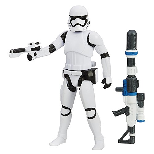 Hasbro Star Wars The Force Awakens 2015 First Order Stormtrooper mit 2 Zubehör