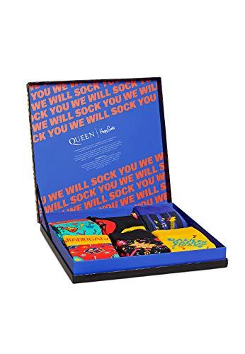 Happy Socks Geschenkbox QUEEN 6-PACK GIFT BOX XQUE10-0100 Mehrfarbig, Size:41-46