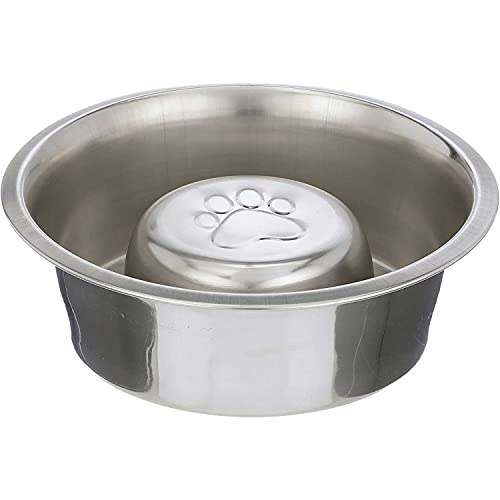 Neater Pet Brands Stainless Steel Slow Feed Bowl - Fits in Large Neater Feeders and Most 2 Quart Feeders, 4 Cups