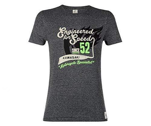 Kawasaki Speed 52 Herren T-Shirt grau Größe L