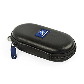DNPRO-ANC Carrying case Compatible with Bose QuietComfort 20  QC20/QC20i  Bose SoundSport in-Ear Bose SoundSport Wireless B&O H3 ANC Sennheiser CX700 and Many Other Earphones  PU Leather Black
