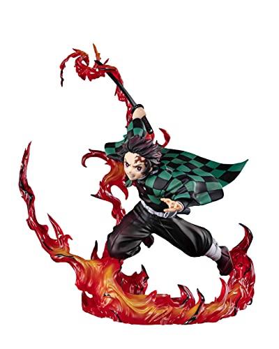 Tamashii Nations FiguartsZERO - Tanjiro Kamado Total Concentration Breathing [Demon Slayer], Bandai Spirits FiguartsZERO (BAS61513)