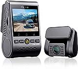 VIOFO A129 Pro Duo 4K Cámara de Coche Cámara Frontal y Trasera 3840 x 2160P Dash CAM 8MP Sensor Wi-Fi GPS Incluido, Modo de Estacionamiento, Grabación de Emergencia, Detección de Movimiento, WDR
