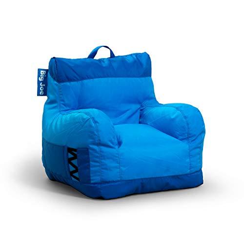 Big joe dorm 2. 0 beanbag chair, one size, two tone blue