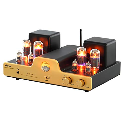 Dared I30 HIFI Audiophiles Professional Class A Vacuum Tube Integrated Amplifier USB-DAC/LINE input and Headphone Output,30W2,with 6L6G(5881),12AX7(ECC83),12AU7(ECC82) Tube