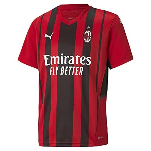 Puma - AC Milan Temporada 2021/22 Camiseta Primera Equipación, Unisex