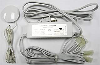HC Lighting - 3 Level Touch Dimmer Transformer 60 Watt Maximum 120 Volt Input (White)