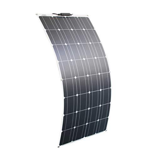 High song Paneles solares Kit De Panel Solar 300w 200w 100w Paneles Solares Flexibles 12v 24v Módulo De Cargador De Batería De Alta Eficiencia (Color : 100W Solar Panel)