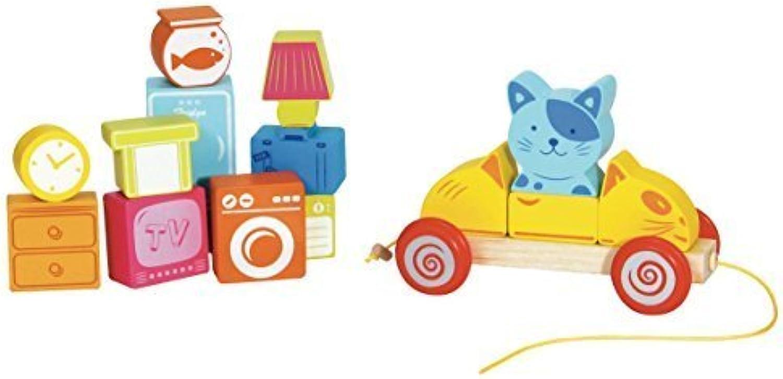 Precio al por mayor y calidad confiable. Neat Oh  450354 Scratchy The Cat's Moving Day Day Day Train Set (17-Piece) by Neat-Oh  tienda de venta