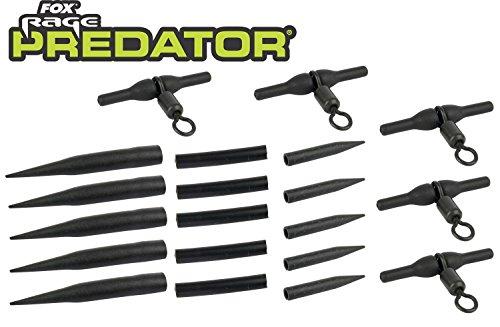 Fox Rage Predator Rotary Uptrace Rig Kit, Hechtvorfächer, Heli Rig, Raubfischvorfach, Hechtmontage, Paternoster