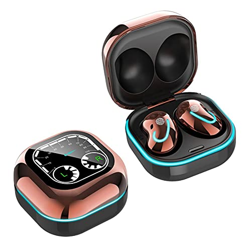 Petyoung Auriculares Inalámbricos Deporte Impermeable Hi-Fi En-Oído Control Táctil con Caja de Carga para Mujeres Y Hombres