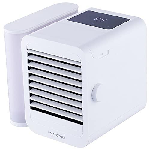 Enfriador de aire personal USB carga noche luz portátil mini humidificador móvil aire acondicionado para el hogar oficina dormitorio
