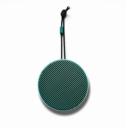 Vifa City - Bluetooth 5.0 Lautsprecher | Tragebare, kabellose Musikbox | Skandinavisches Design - Salbei Grün