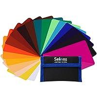 Selens ユニバーサルフラッシュジェル照明フィルター - カメラフラッシュライト用コンビネーションキット