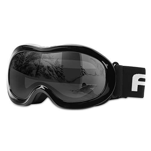 AKASO Kids Ski Goggles, Snowboard Goggles Snow Goggles for Youth, Kids & Teenagers, Anti-Fog, 100%...