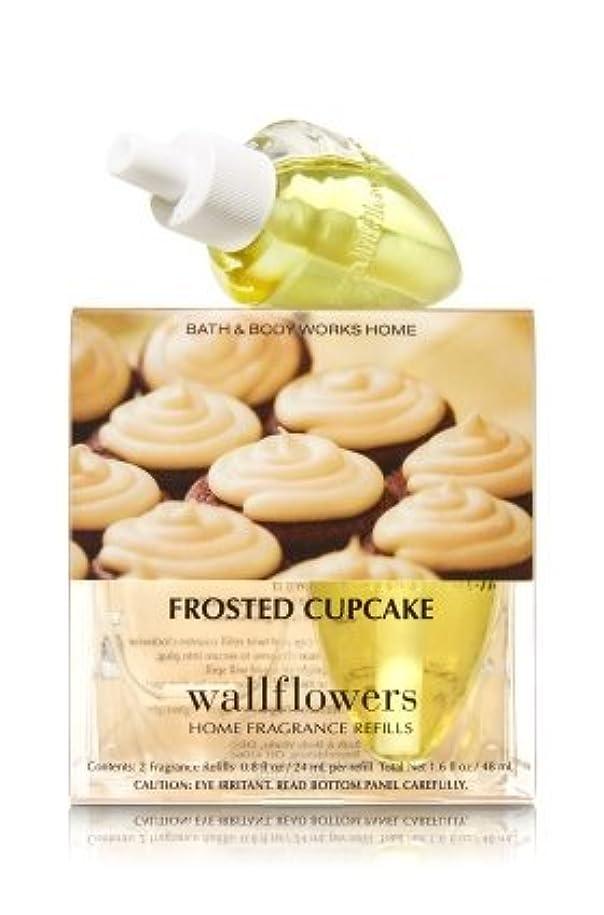 オーケストラ罪悪感病気の【Bath&Body Works/バス&ボディワークス】 ホームフレグランス 詰替えリフィル(2個入り) フロステッドカップケーキ Wallflowers Home Fragrance 2-Pack Refills Frosted Cupcake [並行輸入品]