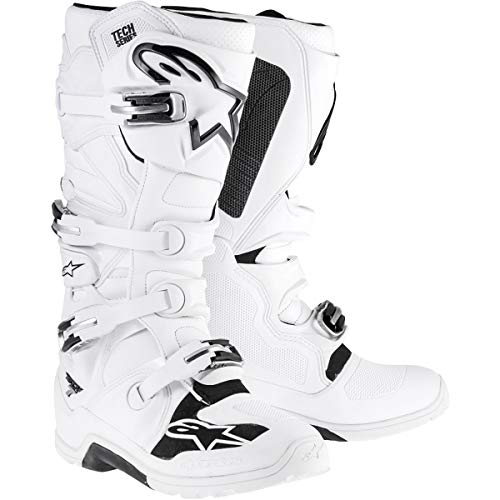 Alpinestars Tech 7 Enduro Men's Off-Road Motorcycle Boots - White / 11