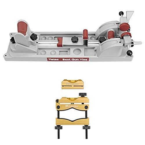 Find Bargain Tipton Best Gun Vise for Cleaning, Gunsmithing and Gun Maintenance and Wheeler Engineering Professional Reticle Leveling System