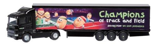 Corgi Camion de réfrigérateur échelle 1/64 avec inscription « We Love Potatoes »
