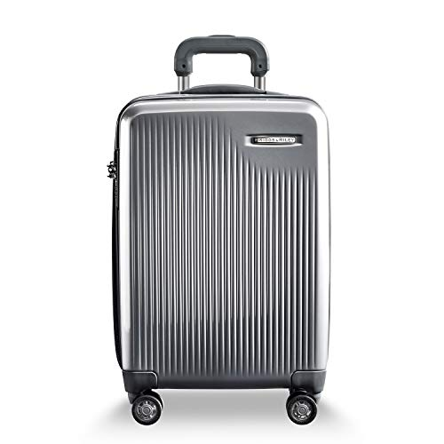 Briggs & Riley Sympatico International Carry-On Cx Spinner (Silver)