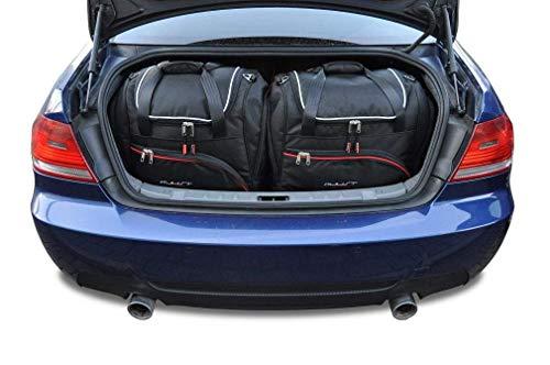 KJUST Dedizierte Reisetaschen 4 STK kompatibel mit BMW 3 Coupe E92 2006 - 2013
