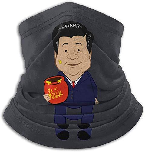 huatongxin Xi Jinpooh Winnie The Pooh prohibido en China moda cálido esquí microfibra cuello calentador cálido a prueba de viento