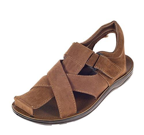 Khadim's Men Brown Casual Dress Sandal - UK 8