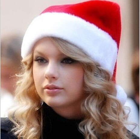 UEYR Pelz getrimmte Weihnachten Weihnachtsmütze 3S67027 Weihnachten Frauen-Hut heißen Neue rote Kappe