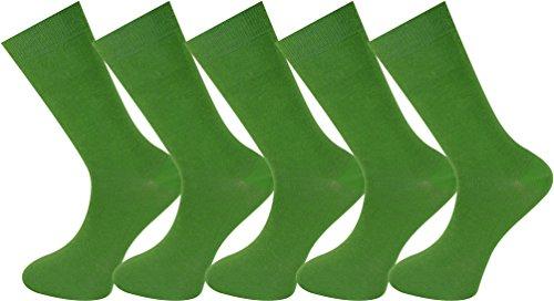 Mysocks unisex 5 Paar Packsocken Grün