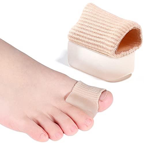 2 Enderezador de Pie para Dedos Martillos- Corrector de Dedos Martillos y Superpuestos- Alivio Dolor Dedos de Pie- Protector Dedos Pie Martillo- Separador Silicona- Para Hombres y Mujeres