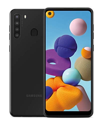 Samsung Electronics Galaxy A21 Factory Unlocked Android Cell Phone , US Version Smartphone , 32GB Storage , Long-Lasting…