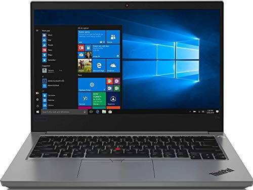 Lenovo ThinkPad E14 Intel Core i5 10th Gen 14-inch Full HD Thin and Light Laptop (8GB RAM/ 1TB HDD + 128GB SSD/ Windows 10 Home/ Microsoft Office Home & Student 2019/ Black/ 1.69 kg), 20RAS0KY00