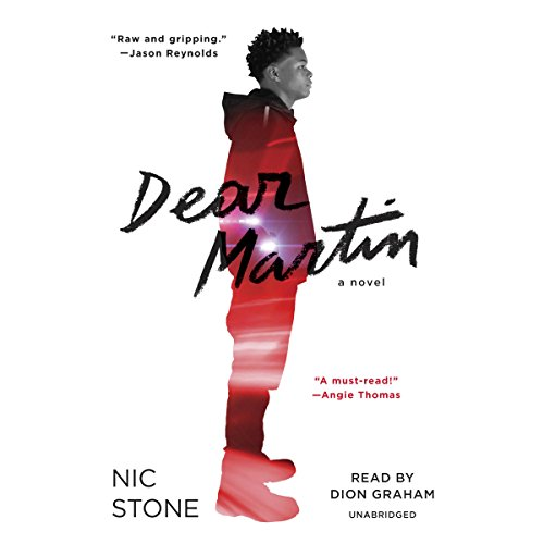 Dear Martin audiobook cover art
