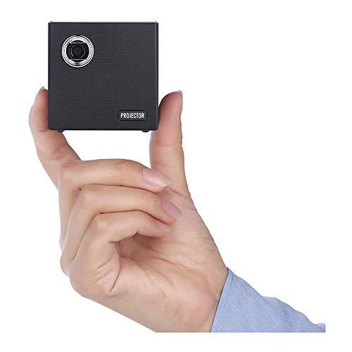 IGRNG HD móvil de proyección Cinemood Proyector portátil inalámbrico Mini portátil Incorporado 3400mAh polímero de Litio para 2 Horas de reproducción de vídeo Principal móvil de Cine en casa