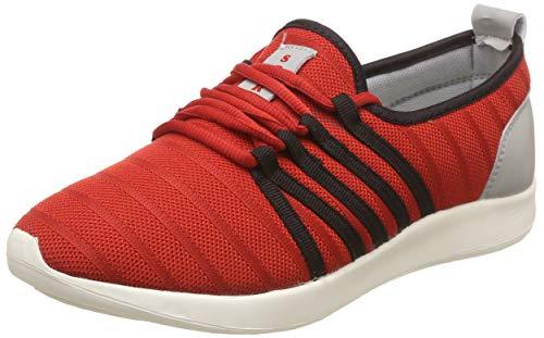 Unistar Men's Red Running Shoes-6 UK (Nepal_054)