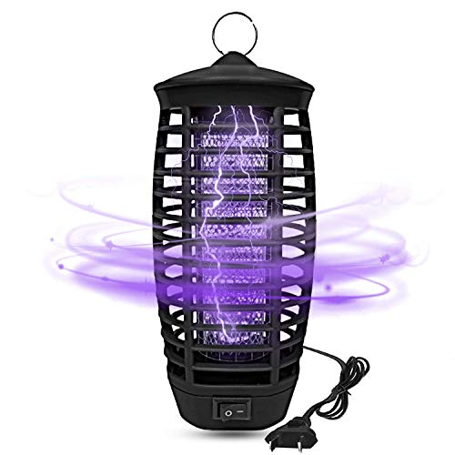 Wellgoo Electronic Bug Zapper, Mosquito Killer Lamp, Fly & Insects Trap for Indoor and Outdoor - 2020 Upgraded